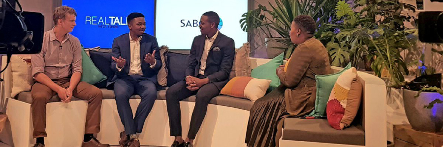The Blockchain Academy invited to speak on SABC3 TV Live on the Real Talk Show with Anele