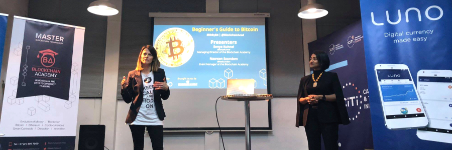 Blockchain Academy hosts its first event in partnership with Luno